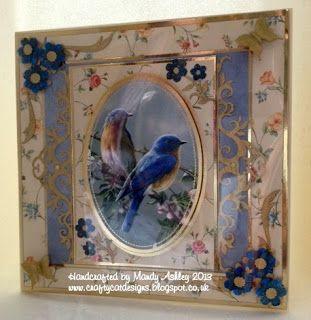 using kanban's  'In the garden' card & topper,