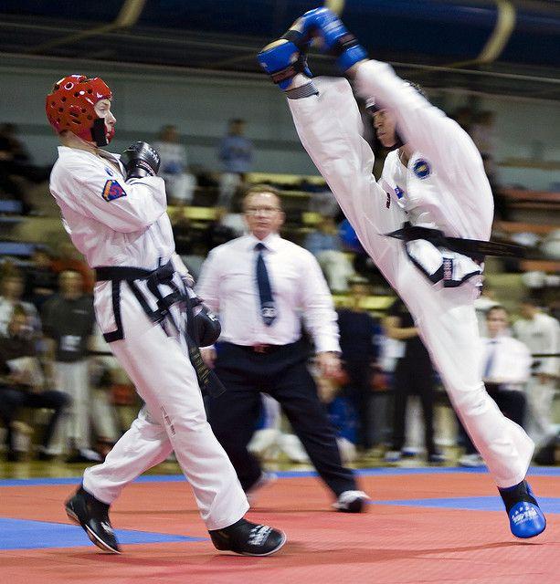Esto es Taekwondo ITF (Imágenes Impresionantes)