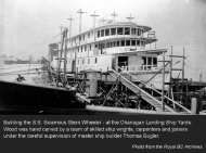 Royal BC Archives – Building the S.S. Sicamous Stern Wheeler at the Okanagan Landing Ship Yards
