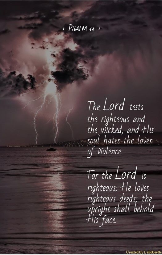 Psalm 11 - Click for music