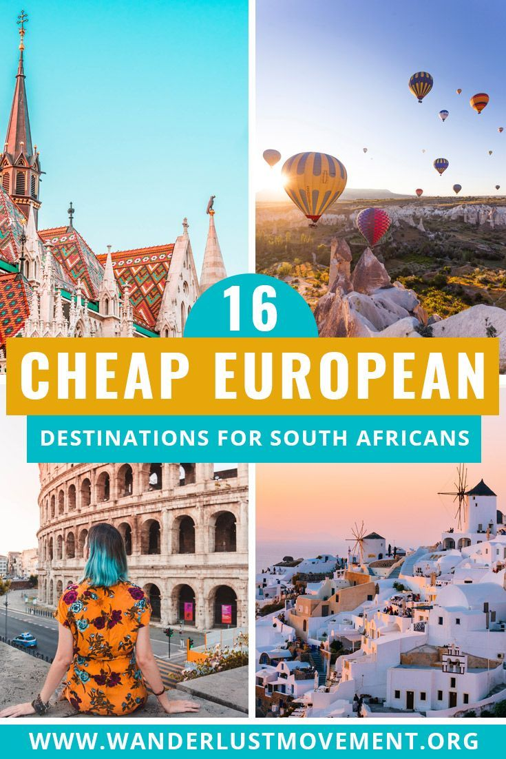 16 Of The Best Rand Friendly Holiday Destinations In Europe Europe Travel Holiday Destinations Europe Holiday Destinations