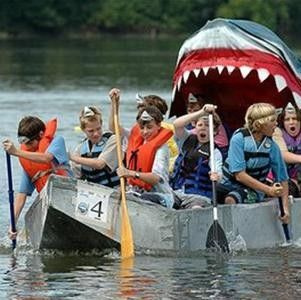 Cardboard Boat Race Akron, OH #Kids #Events