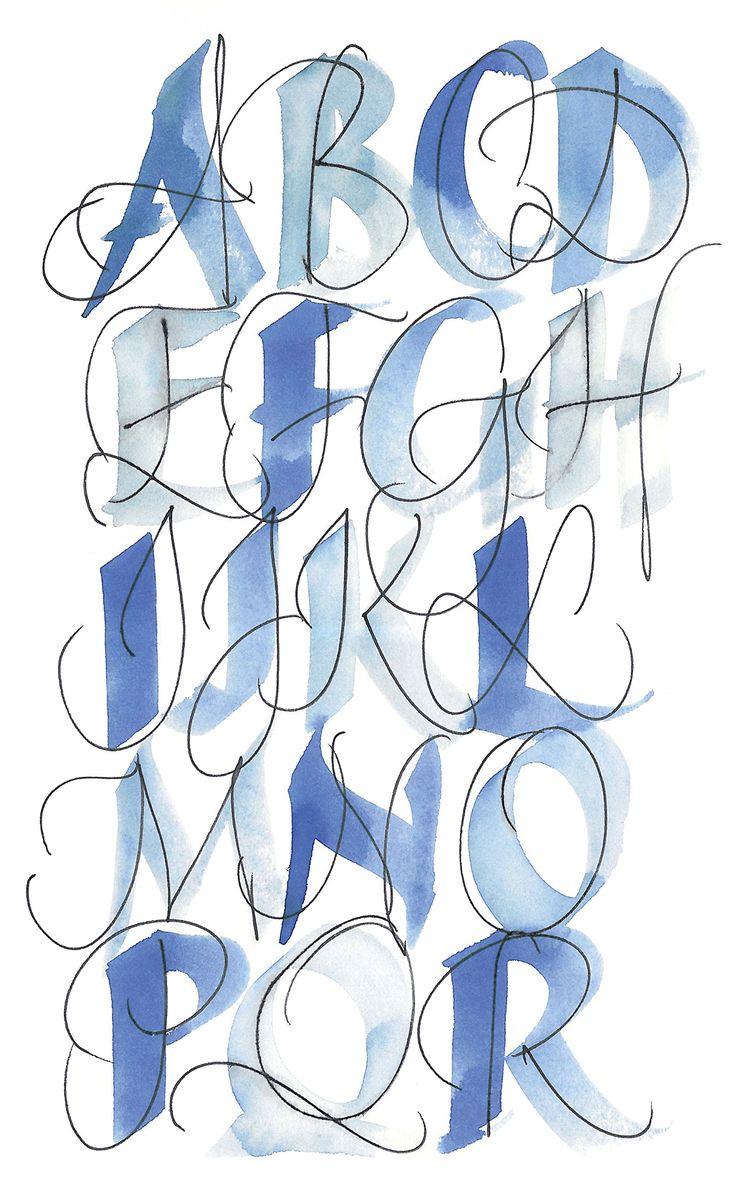 Kalligrafie & Handschrift: Alphabete, Übungen, Anwendungen: Amazon.de: Katharina Pieper: Bücher