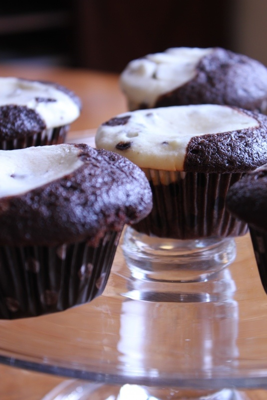 Black-Bottom Cupcakes.  If you've never, you should :)