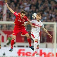 Second division Bundesliga soccer match: VfB Stuttgart VS 1. FC Union Berlin