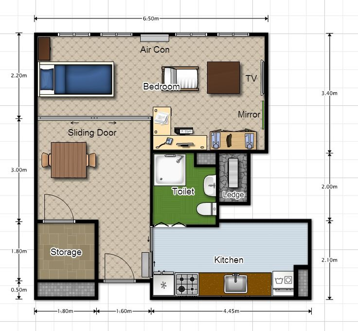 Home Design Ideas For Hdb Flats: [GPGT] 2 Rooms BTO For Single Actually Not Bad Leh