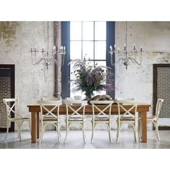 Matilba Triple Butterfly Extension Dining Table | Domayne Online Store