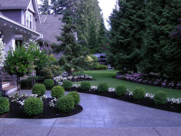 25 best ideas about front yard design on pinterest front yard landscaping front landscaping ideas and front yard tree ideas - Yard Design Ideas
