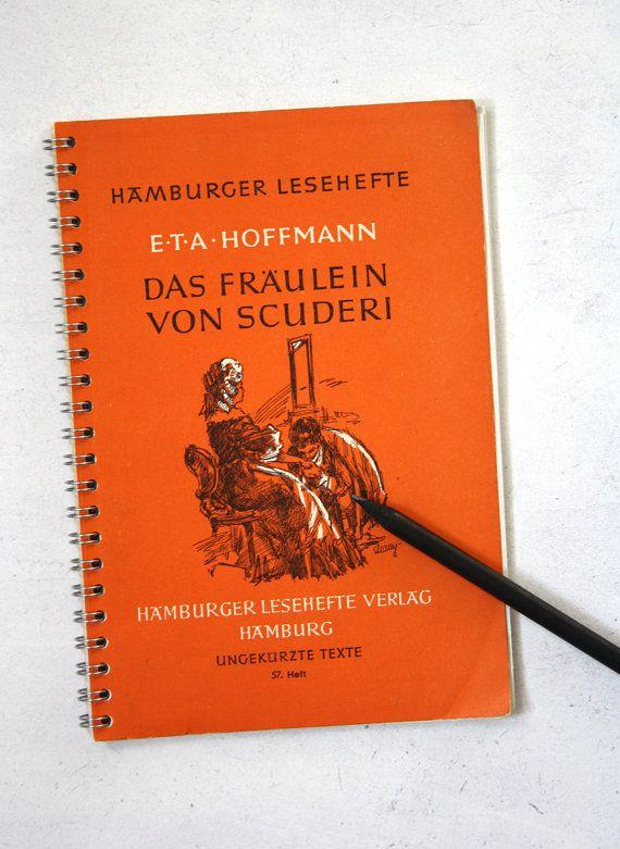 Notizbuch: Das Fräulein von Scuderi von JFdesignvienna auf Etsy