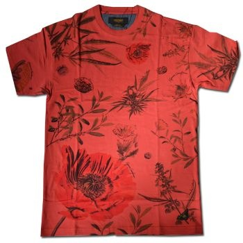 10 Deep Bacchanal T Shirt - Red