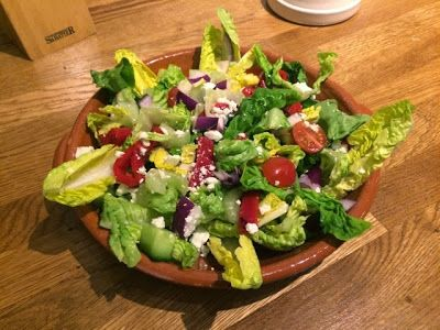Diary of a Sauce Pot: Mediterranean Pepper & Feta Salad