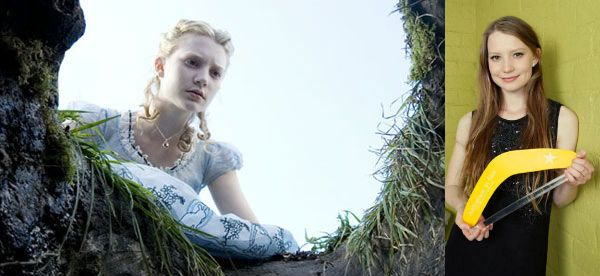 2008 Australians in Film Breakthrough Award Honoree Mia Wasikowska will reprise her role as Alice Kingsleigh in Disney's sequel to Alice in Wonderland. The studio announced Mia's attachment and a May 27, 2016 release date. Johnny Depp also to return as The Mad Hatter.  Read More: http://australiansinfilm.org/latest_news?mode=PostView&bmi=1446318  #AliceinWonderland #MiaWasikowska #JohnnyDepp