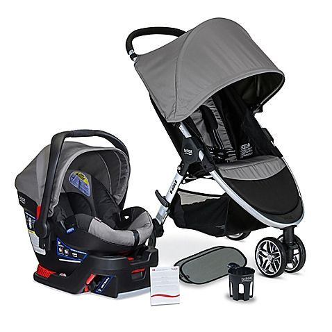 Specifically paired to deliver utmost convenience plus maximum comfort and safety, the 2016 B-Agile 3/B-Safe 35 Travel System XE from BRITAX features the Click & Go system to make the ideal stroller and infant car seat combo when travelling with baby. #infantcarseatandstroller