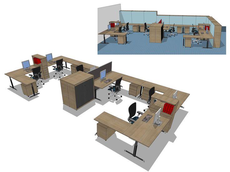 Klein Kantoor Inrichten : Klein kantoor inrichten