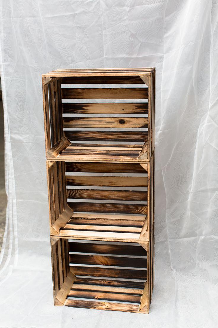 deko ideen holzkisten wie findet ihr unsere geflammten kisten blumen pflanzen kisten box shabby vintagedeko - Dekoideen Kisten