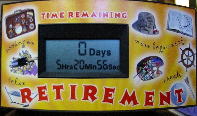 My retirement countdown clock has reached zero. I'm now a full-time  writer.