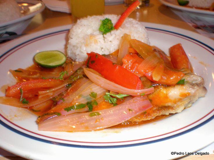 154 best mariscos images on pinterest peruvian recipes peruvian pescado a la chorillana peruvian cuisineperuvian recipesfishentreeslatin forumfinder Images