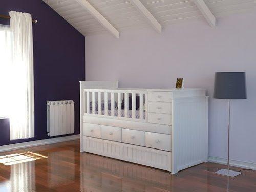 Las 25 mejores ideas sobre cunas funcionales en pinterest cama cuna cuna convertible y camas - Cajonera bajo cama ...