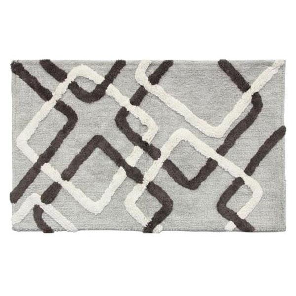 Lydia Neutral Gray And Brown Bathroom Rug Basement Bathroom Pinterest Bathroom Rugs And