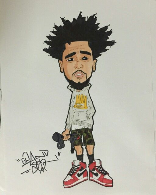 how to draw hip hop cartoons