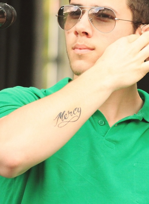 125 best images about my love nick jonas on pinterest he for Nick jonas tattoo