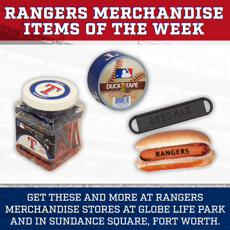 Hook Dad up for #FathersDay with his favorite Rangers gear & gadgets! #LetsGoRangers