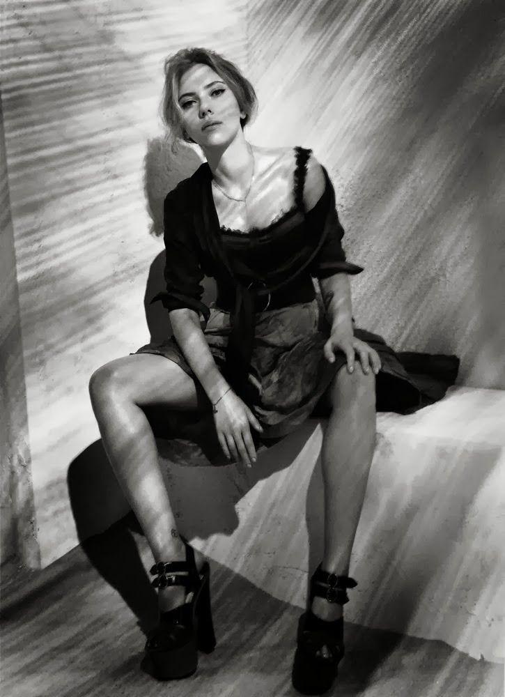 Scarlett Johansson by Patrick Demarchelier for Interview October 2013