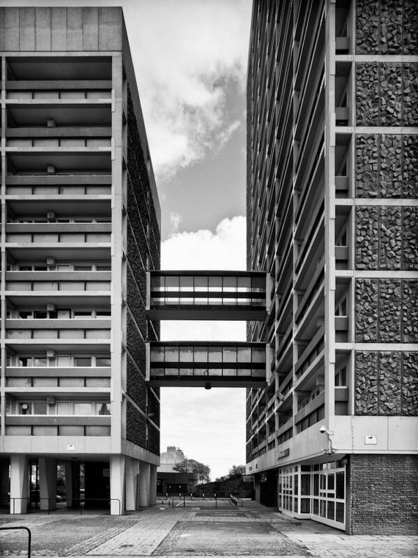 tower blocks of Aberdeen
