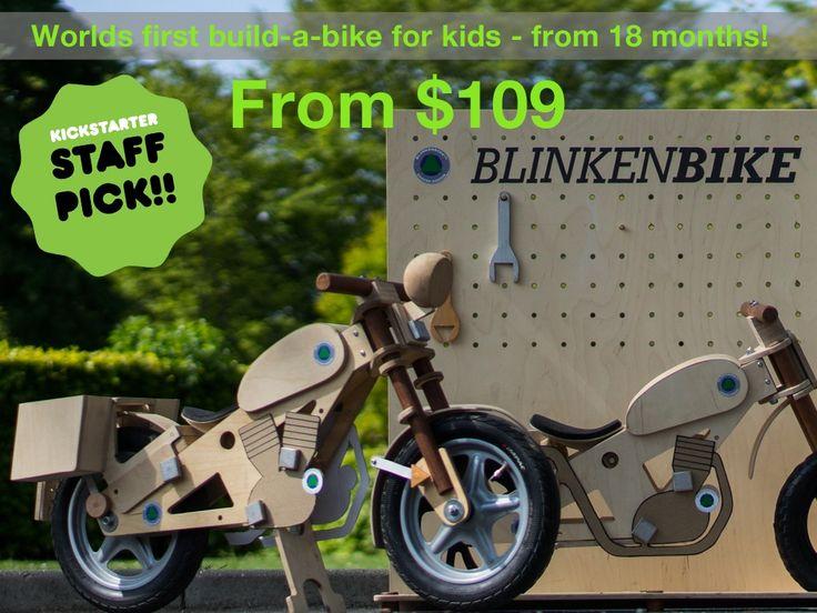 Blinkenbike - More than just a balance bike project video thumbnail