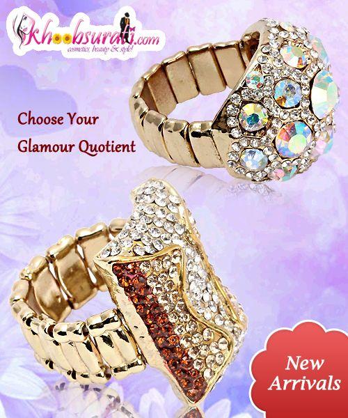 1st: Lavishing Metallic Multicolor Studded Ring @ Rs 428 http://khoobsurati.com/khoobsurati/lavishing-metallic-multicolor-studded-ring-khoobsurati  2nd: Elegantly Studded Dazzler Ring @ Rs 428 http://khoobsurati.com/khoobsurati/elegantly-studded-dazzler-ring-khoobsurati