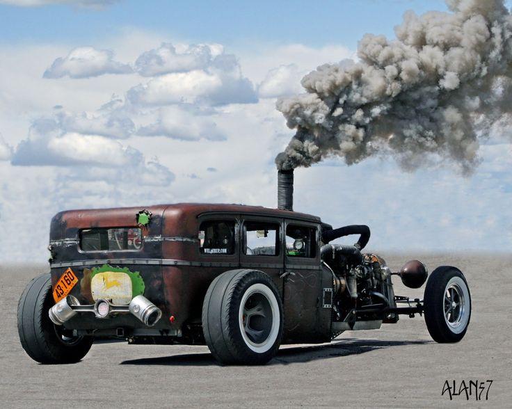 1928 Dodge Brothers Rat Rod w/ a Cummins turbo Diesel by Welderup