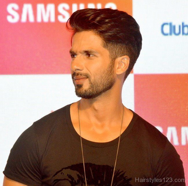 Shahid Kapoor New Hairstyle For His New Movie Shaandar Newhairstyles Indian Hairstyles Men Formal Hairstyles Men Bollywood Hairstyles