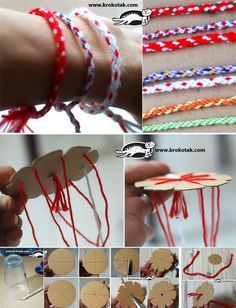 Bracelet – the KUMIHIMO Technique