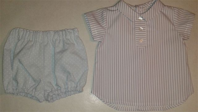 ranita y camisa coordinado