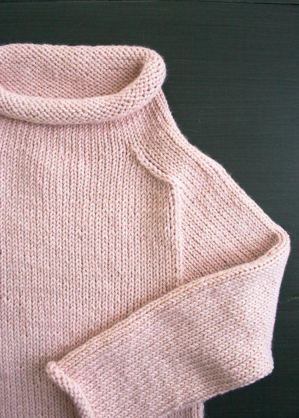 Purl Soho Pullover in Alpaca Pure | Purl Soho