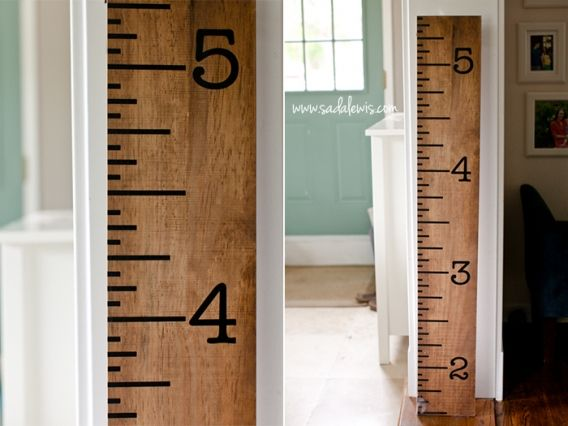 Large Oak Ruler Growth Chart Hobby Lobby- goes on 50% off sale or use 40% off coupon