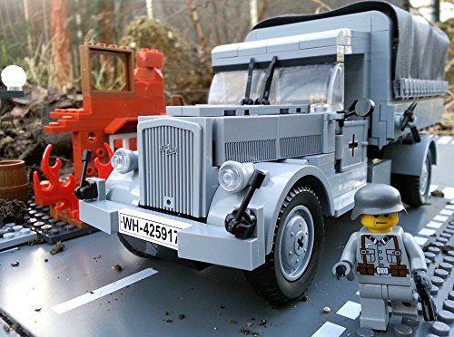 Modbrix 2449 - 350-teiliges Bausteine Set, Opel Blitz LKW inkl. original Lego© Wehrmacht Soldaten Brigamo http://www.amazon.de/dp/B00S1L87UU/ref=cm_sw_r_pi_dp_C7bjvb05GQ88S