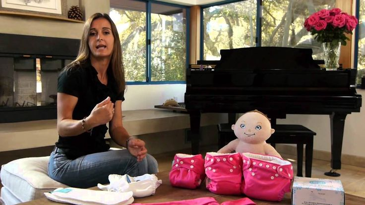 How charlie banana® cloth diapers works