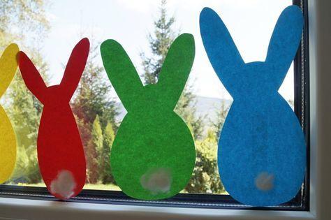 Osterhasen basteln, DIY mit Kindern, Ostern mit Kindern, Basteln mit Kindern, Fensterschmuck Ostern, Familienblog, Schwesternliebe
