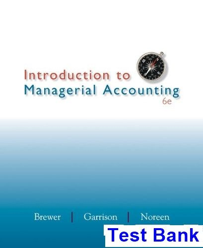 30 best testbank download images on pinterest key management and introduction to managerial accounting 6th edition brewer test bank test bank solutions manual fandeluxe Gallery