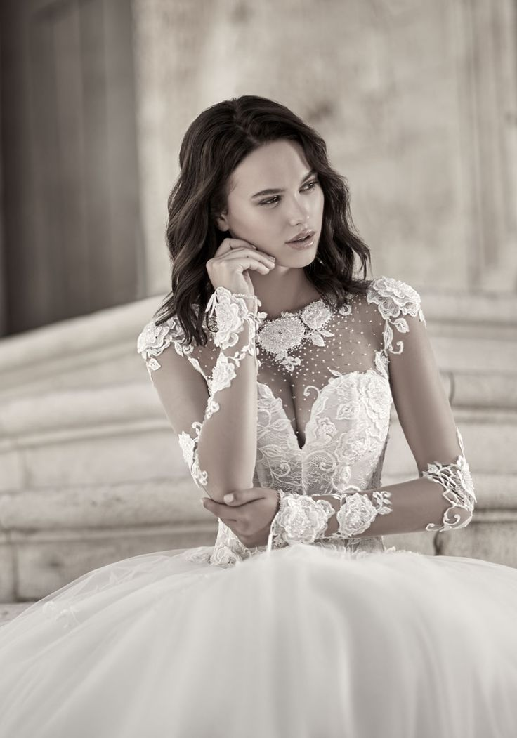 Courtesy of Maison Signore Wedding Dresses from the Giovanna Sbiroli Collection