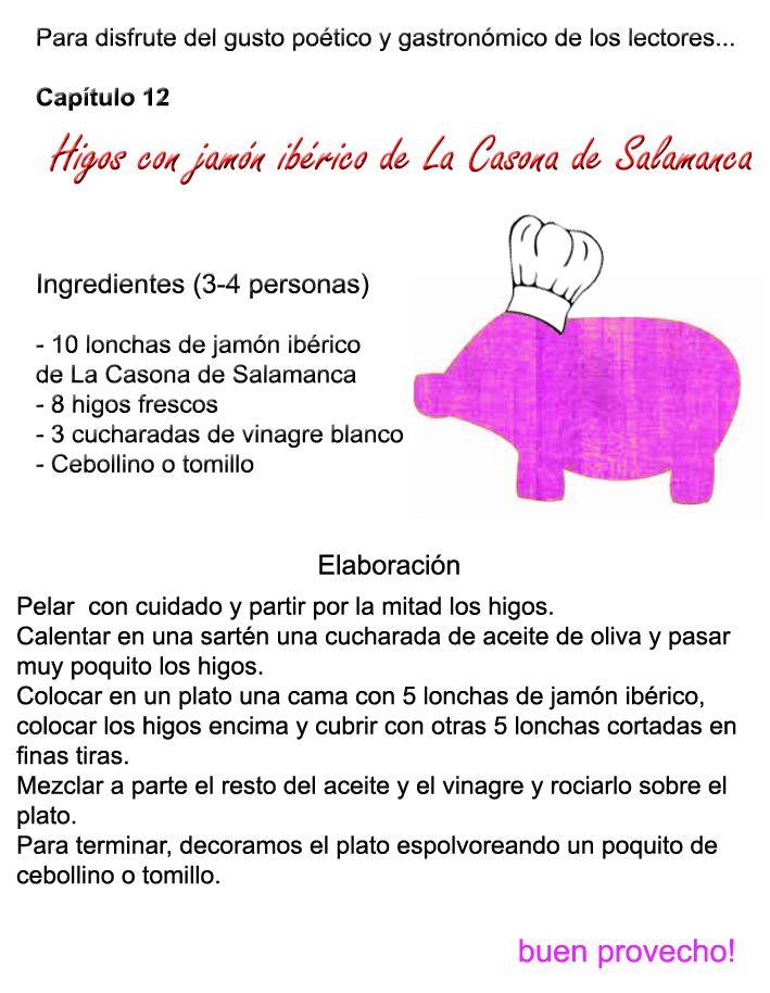 Higos con #jamón #ibérico.