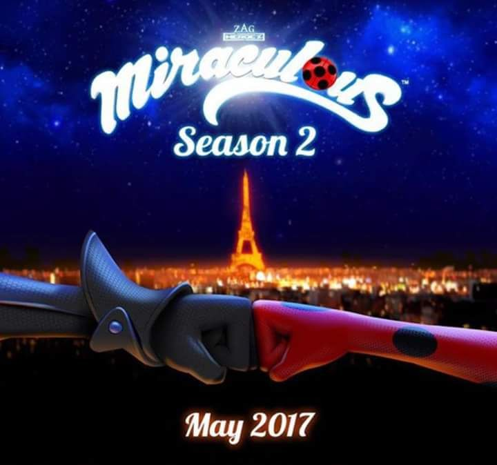 YESS!!! OH MY GOSH!!! Season 2 on May 2017!!! Bugaboo & Chat Noir are back!