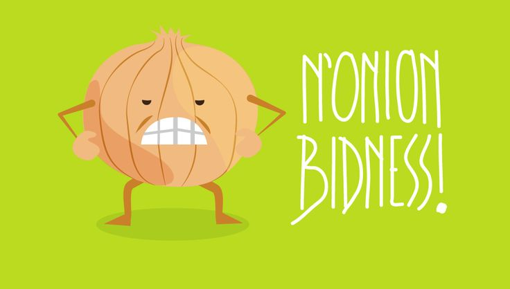 Case of the Mondays? N'onion Bidness!  |  Amelia Street Studio