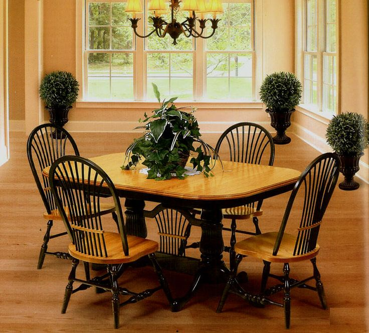 26 Best Amish Trestle Table Images On Pinterest