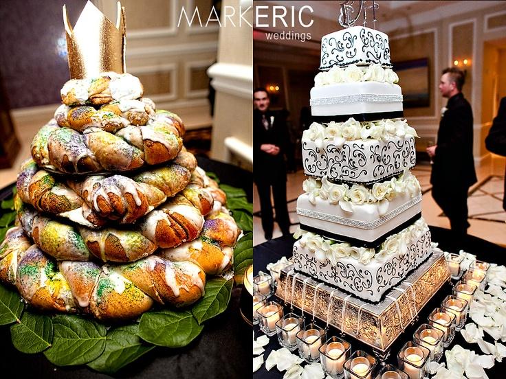 Pinterest Wedding Cakes: King Cake Wedding Cake! Awesome! Pinterest.com/
