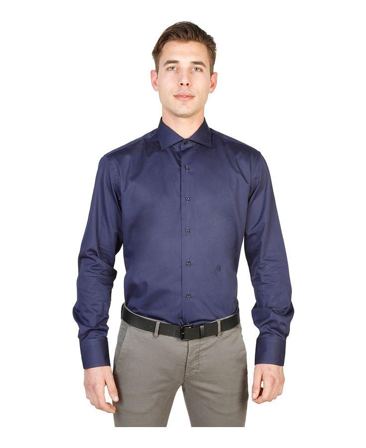 Camicia uomo  Blu TRUSSARDI - Autunno Inverno - titalola.com