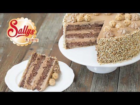 Sallys Giotto-Haselnuss-Torte & großes Kitchenaid Gewinnspiel - YouTube