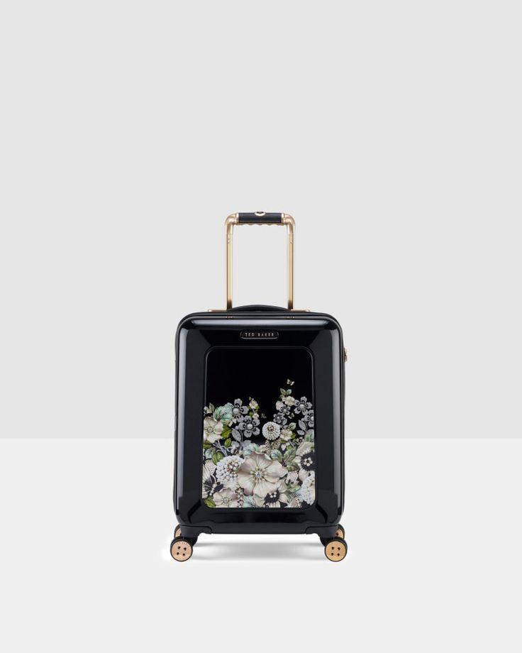 Gem Gardens small suitcase - Black | Bags | Ted Baker
