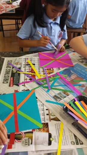 Lines and patterns with Grade One.